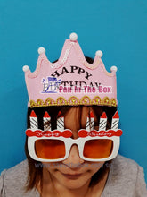 Load image into Gallery viewer, Happy Birthday Headwear w/LED light