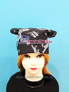 Black Pirate Bandana