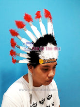 Load image into Gallery viewer, Red Indian Headgear
