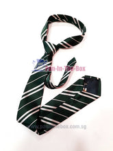 Load image into Gallery viewer, Green Striped Tie