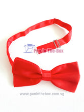 Load image into Gallery viewer, Red Bow Tie