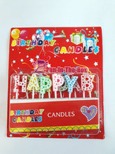 Load image into Gallery viewer, Happy Birthday Candles
