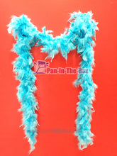 Load image into Gallery viewer, Light Blue Feather boa