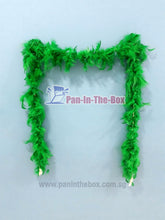 Load image into Gallery viewer, Green Feather Boa