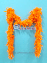 Load image into Gallery viewer, Orange Feather Boa