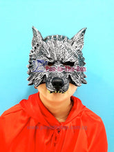 Load image into Gallery viewer, Wolf Rubber Mask