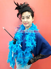 Load image into Gallery viewer, Blue Feather Boa