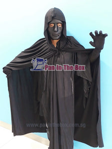 Black Mask With Cape