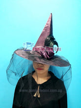 Load image into Gallery viewer, Purple Witch Hat