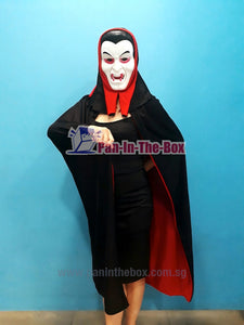 Vampire Mask With Cape