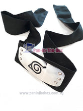 Load image into Gallery viewer, Naruto : Konoha Headband (Black)
