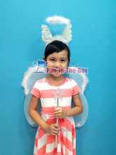 Load image into Gallery viewer, Angel Wing Set w/Headband and Wand