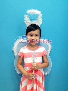 Angel Wing Set w/Headband and Wand