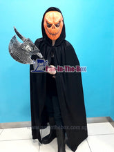 Load image into Gallery viewer, Pumpkin Mask Costume