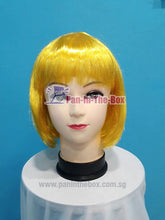 Load image into Gallery viewer, Short Straight Yellow Wig