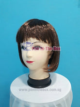 Load image into Gallery viewer, Dark Brown Short Straight Wig