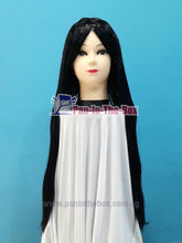 Load image into Gallery viewer, Long Straight Black Wig
