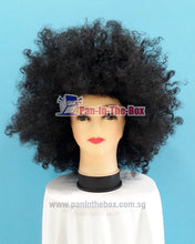 Load image into Gallery viewer, Big Black Afro Wig