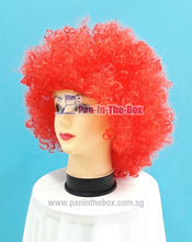 Load image into Gallery viewer, Short Red Afro Wig