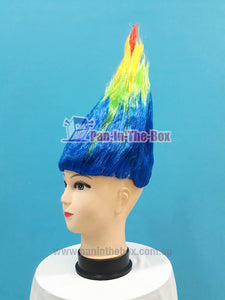 Rainbow Trolls Hair Wig