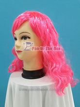 Load image into Gallery viewer, Pink Curly Hair Wig