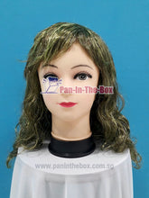 Load image into Gallery viewer, Dark Green Curly Hair Wig