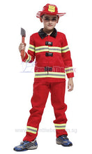 Load image into Gallery viewer, Fireman Kids Costume