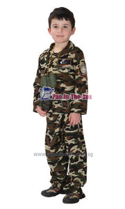 Special Forces Kids Costume