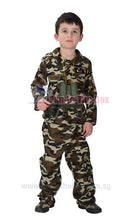 Load image into Gallery viewer, Special Forces Kids Costume