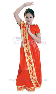India Girl Kids Costume