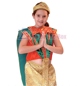 Thailand Girl Kids Costume