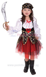 Pirate Girl Kids Costume