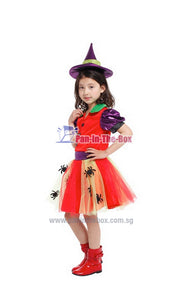 Spider Witch Kids Costume