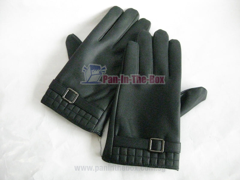 Black Leather glove