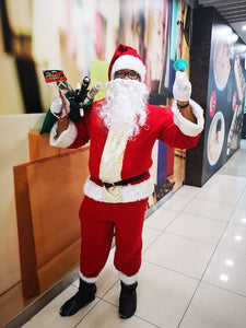 High Quality Christmas Santa Claus Costume