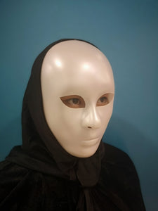 White Alien Mask