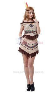Pretty Indian Girl Costume