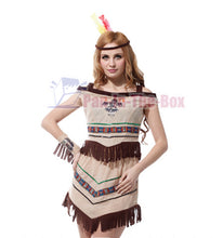 Load image into Gallery viewer, Pretty Indian Girl Costume