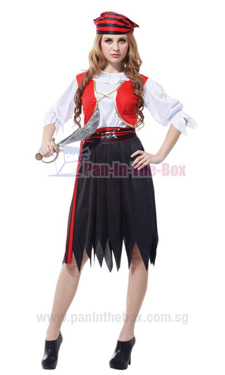 Pretty Pirate Costume 8
