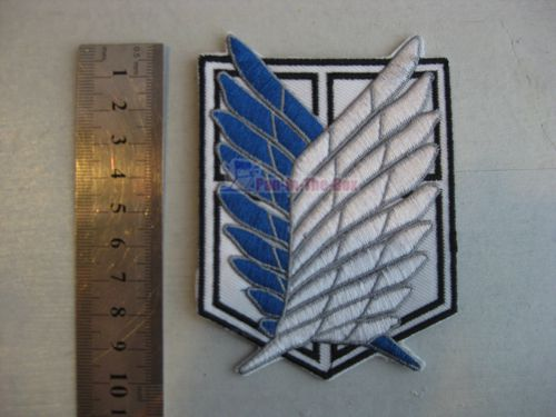 Attack On Titan Cloth Badge