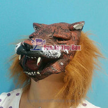 Load image into Gallery viewer, Tiger Latex Mask