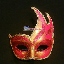 Load image into Gallery viewer, Pink Masquerade Swan Mask