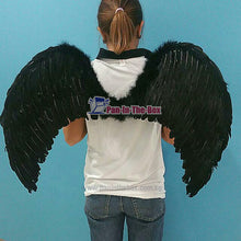 Load image into Gallery viewer, Black Angel Wing