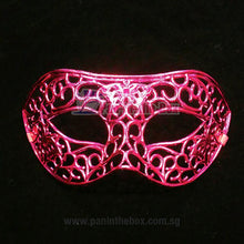 Load image into Gallery viewer, Pink Masquerade Mask