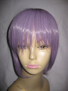Short Wig Purple Violet