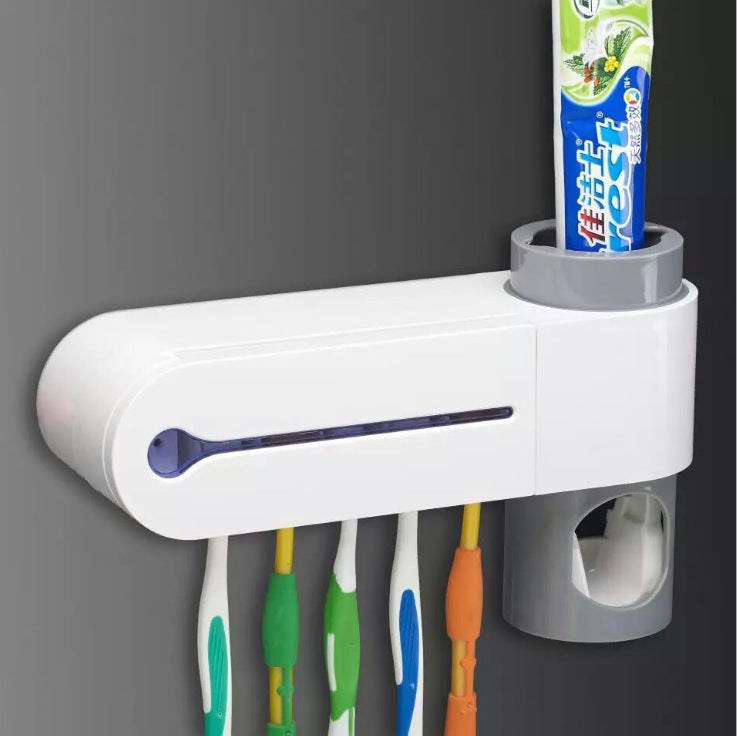 2 in 1 UV Light Ultraviolet Toothbrush Sterilizer