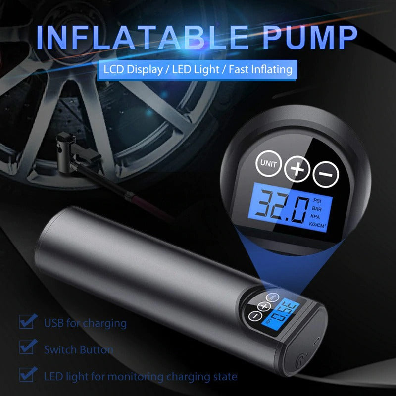 Wireless  Rechargeable Air Pump