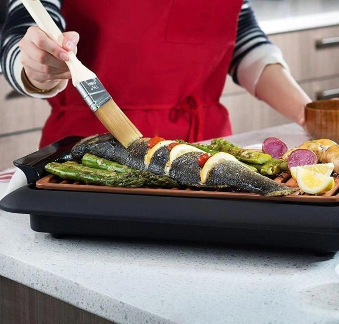 Non-Stick Smokeless Indoor Electric Grill
