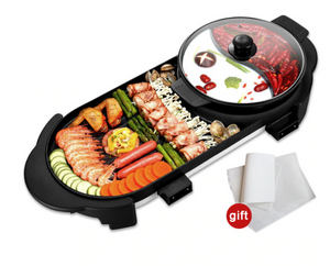 Electric Heating BBQ Household Grill