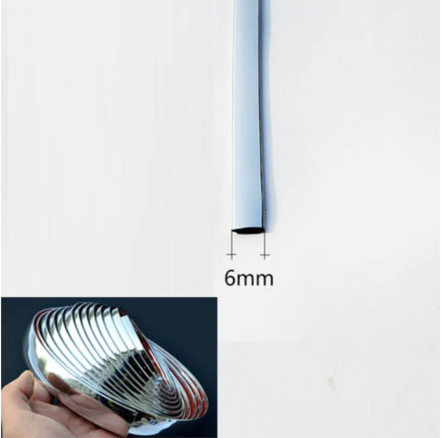 Car Chrome Moulding Bumper Guard Protector